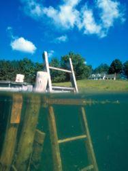 Vermont Farm Pond (Nikon F4, 18mm, split diopter/filter) by Andrew Dawson
