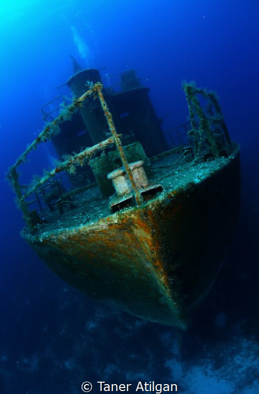 Wreck from Bodrum/Turkey by Taner Atilgan