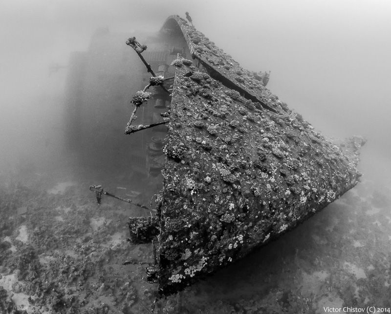 Notorious Salem Express. The vessel sank in 1991. About ... by Victor Chistov