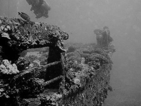Mahi Wreck, Oahu, HI. by Dallas Poore