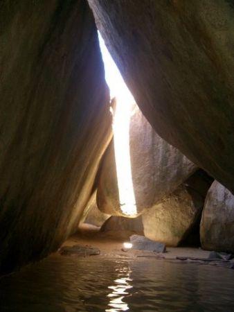 The Baths. Virgin Gorda, British Virgin Island. Picture t... by Sarena Straus