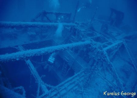 "Wreck of the ""Mars"", Dutch armed merchant ship. Natural l... by Karelas George"