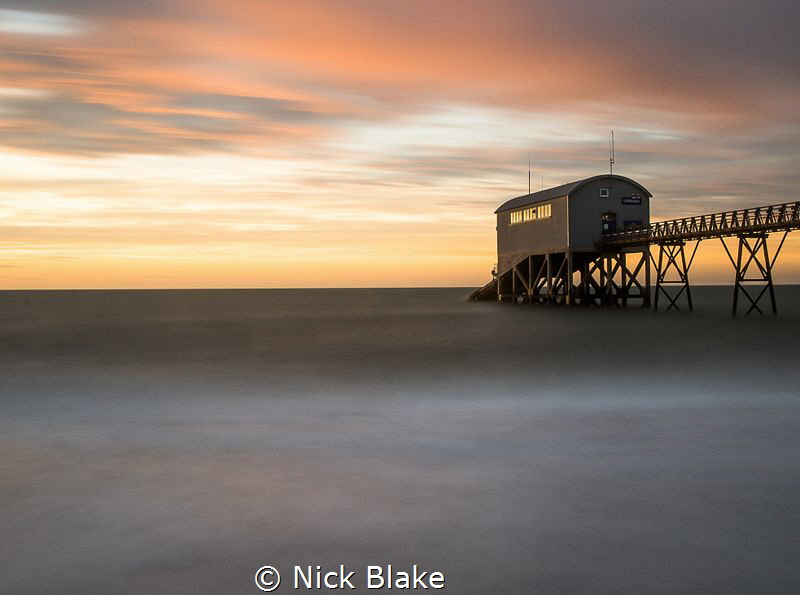 October Sunrise at Selsey by Nick Blake