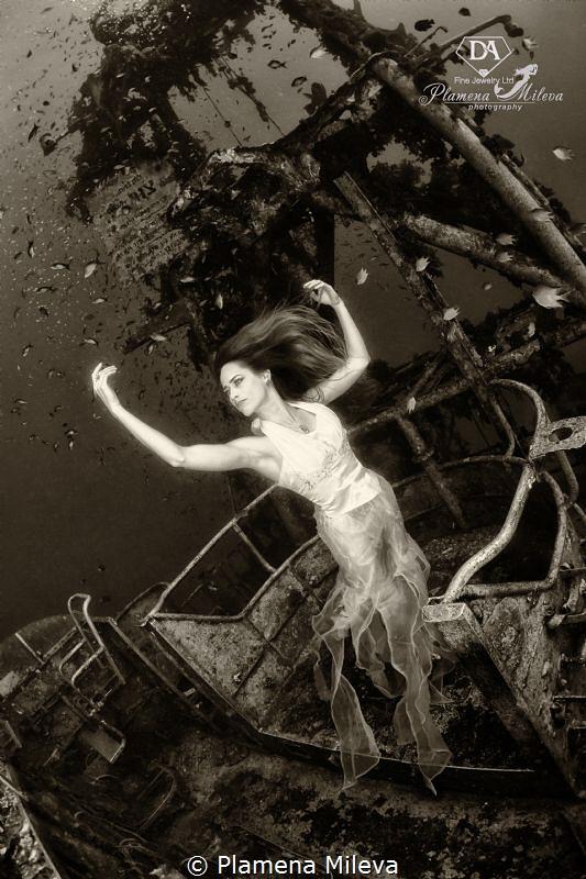 A restless wandering spirit by Plamena Mileva