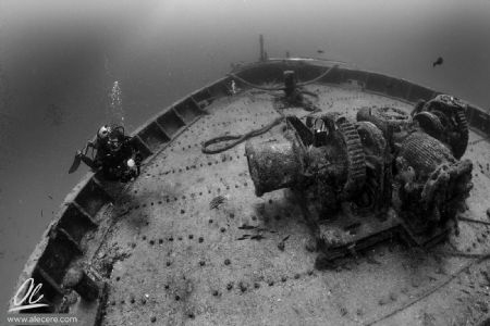 Adding a diver to the scene will help give a sense of sca... by Alessandro Cere