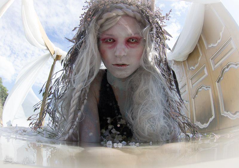 Dark Water Mermaid Event: Dark Water - Lady By The Lake ... by Steven Miller