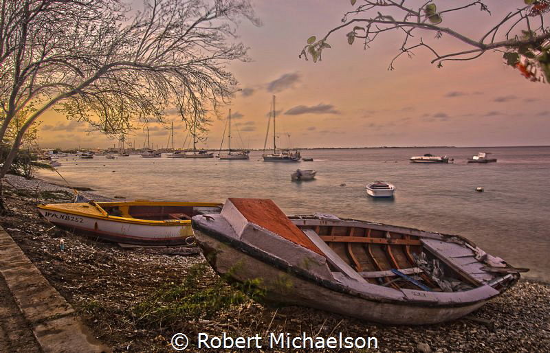 Sunrise Kralendijk, Bonaire by Robert Michaelson