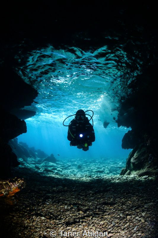 Cave from Bodrum/Turkey by Taner Atilgan