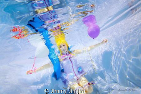 Underwater cosplay: Love live by Jimmy Jimjim