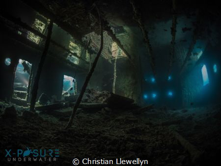 The captain's quarters on the SS thistlegorm. Available l... by Christian Llewellyn