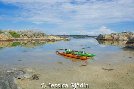 A kayakvaccation at the beautiful west coast of Sweden. by Jessica Sjödin