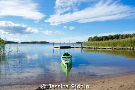 One of the last summer days in Sweden this year and ofcou... by Jessica Sjödin