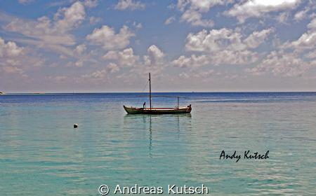 Kuramathi Beach MAldives by Andreas Kutsch