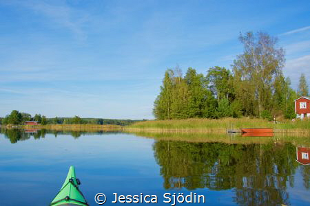 Another day in paradise with my kayak! by Jessica Sjödin