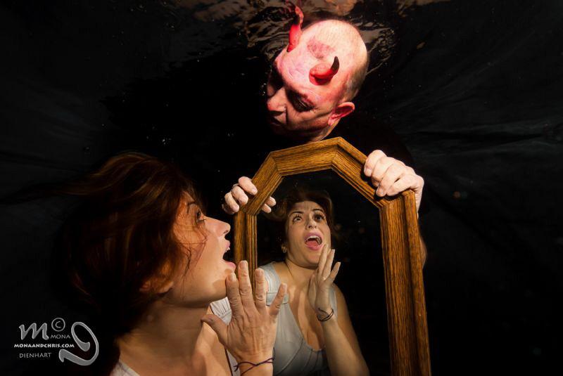 Aquatic Halloween  Mirror games Model : Isa & Rocky by Mona Dienhart
