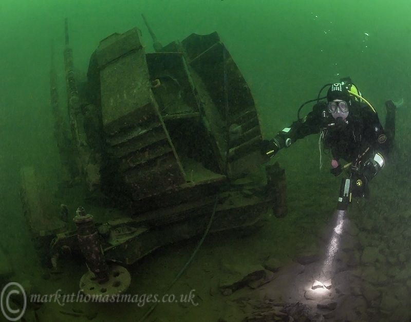 Green water diving by Mark Thomas
