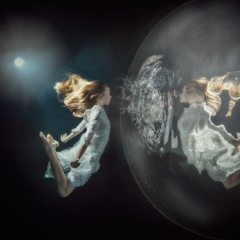 Back To Bubble Sometimes we choose to live in a bubble t... by Lucie Drlikova