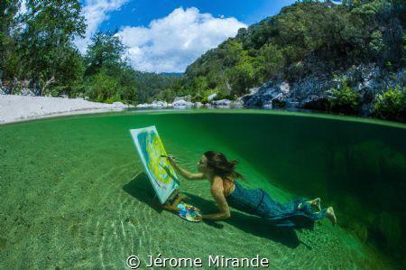 La peinture à l'eau by Jérome Mirande
