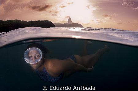 Fernando de Noronha's Sunset by Eduardo Arribada