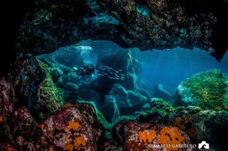 Little cave at Capraia Island by Marco Gargiulo