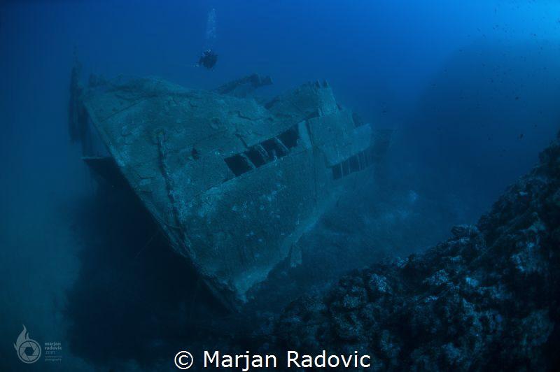 Wreck diving by Marjan Radovic