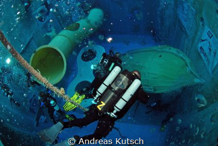 SF2 Rebreather Diver Training Dive by Andreas Kutsch