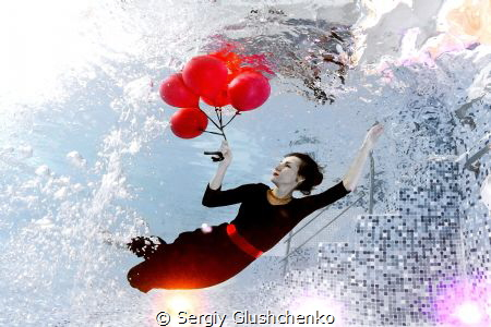 Air balloons...  by Sergiy Glushchenko