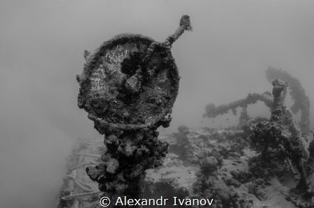 Ships telegraph. Wreck Tihony by Alexandr Ivanov