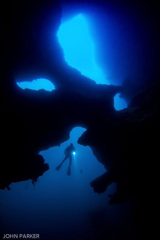 Pescador Island Phantom Cave by John Parker