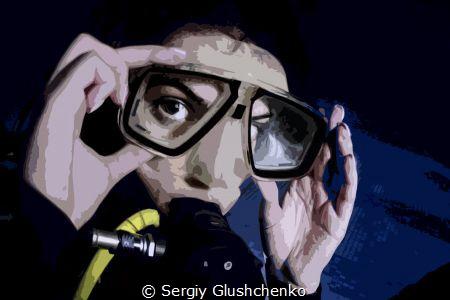Look... by Sergiy Glushchenko