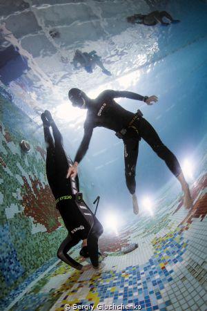 Freediving by Sergiy Glushchenko