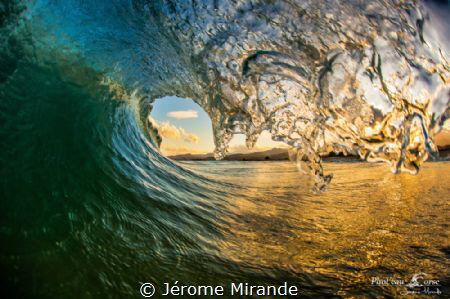 Wave Corsica island by Jérome Mirande