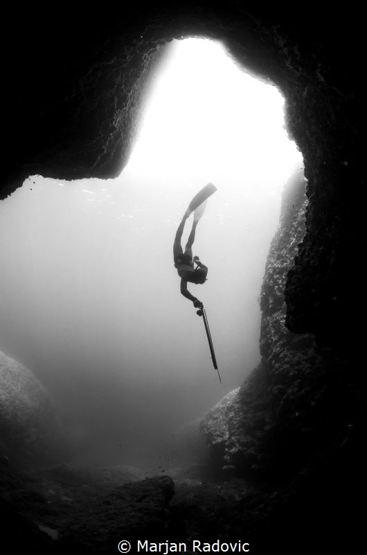 Freediving by Marjan Radovic