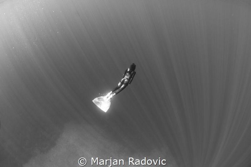 Freediving at island Vis / Croatia by Marjan Radovic