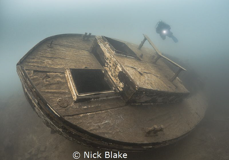 HMS Podsnap and Diver Capernwray, Lancashire, UK by Nick Blake