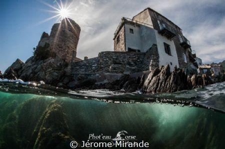 Erbalunga Corsica island by Jérome Mirande