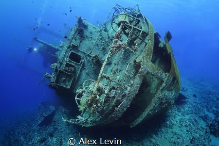 Cedar Pride wreck by Alex Levin