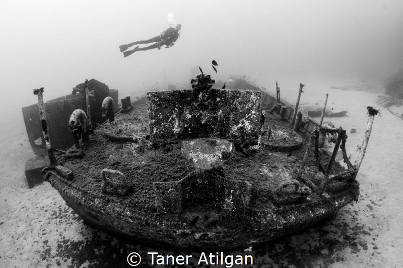coastguard wreck from Kemer by Taner Atilgan