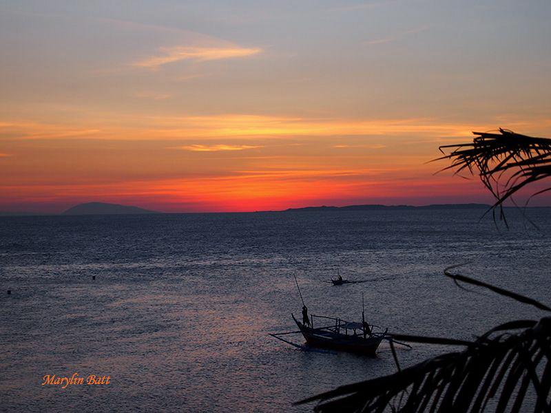 Anilao Sunset by Marylin Batt