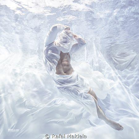 """UW series """"Frozen Man"""" by Rafal Makiela"""
