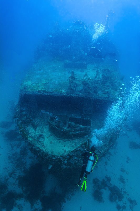 Curacao Wreck by Gian Dandrea