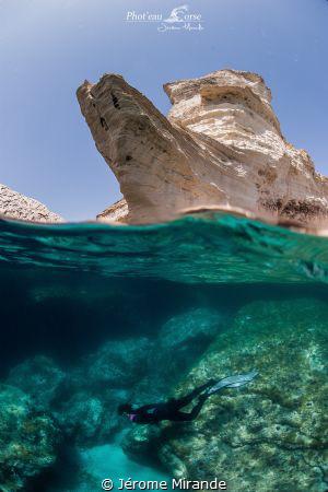 Bonifacio Corsica island by Jérome Mirande