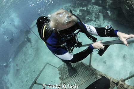 Dive done, way up! by Andy Kutsch