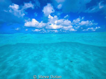 """ Sky Meets Sea""  Visiting (El Cielo) Stafish sanctuary i... by Steve Dolan"