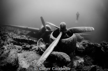 C47 Dakota Military Plane Wreck by Caner Candemir