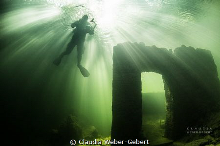 light explosion...