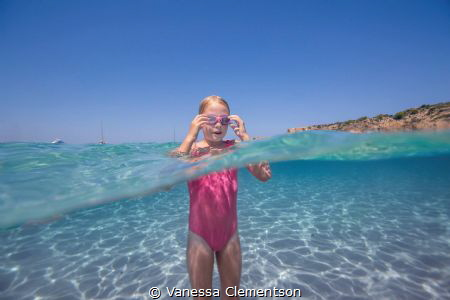 With water this clear, who needs goggles! by Vanessa Clementson