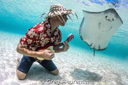 Polynesian rock n' roll by Greg Fleurentin