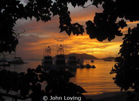 Cane bay Tortola by John Loving