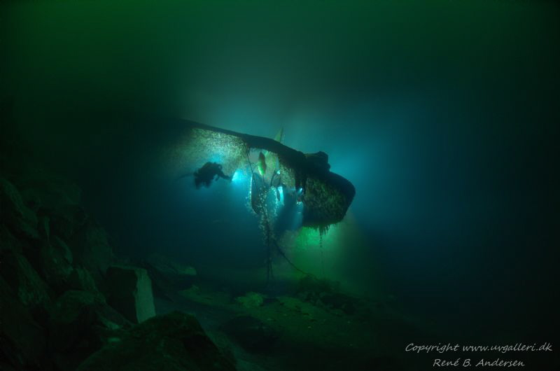 Oldenburg ww2 wreck laying in Norway on 75meter depht whe... by Rene B. Andersen